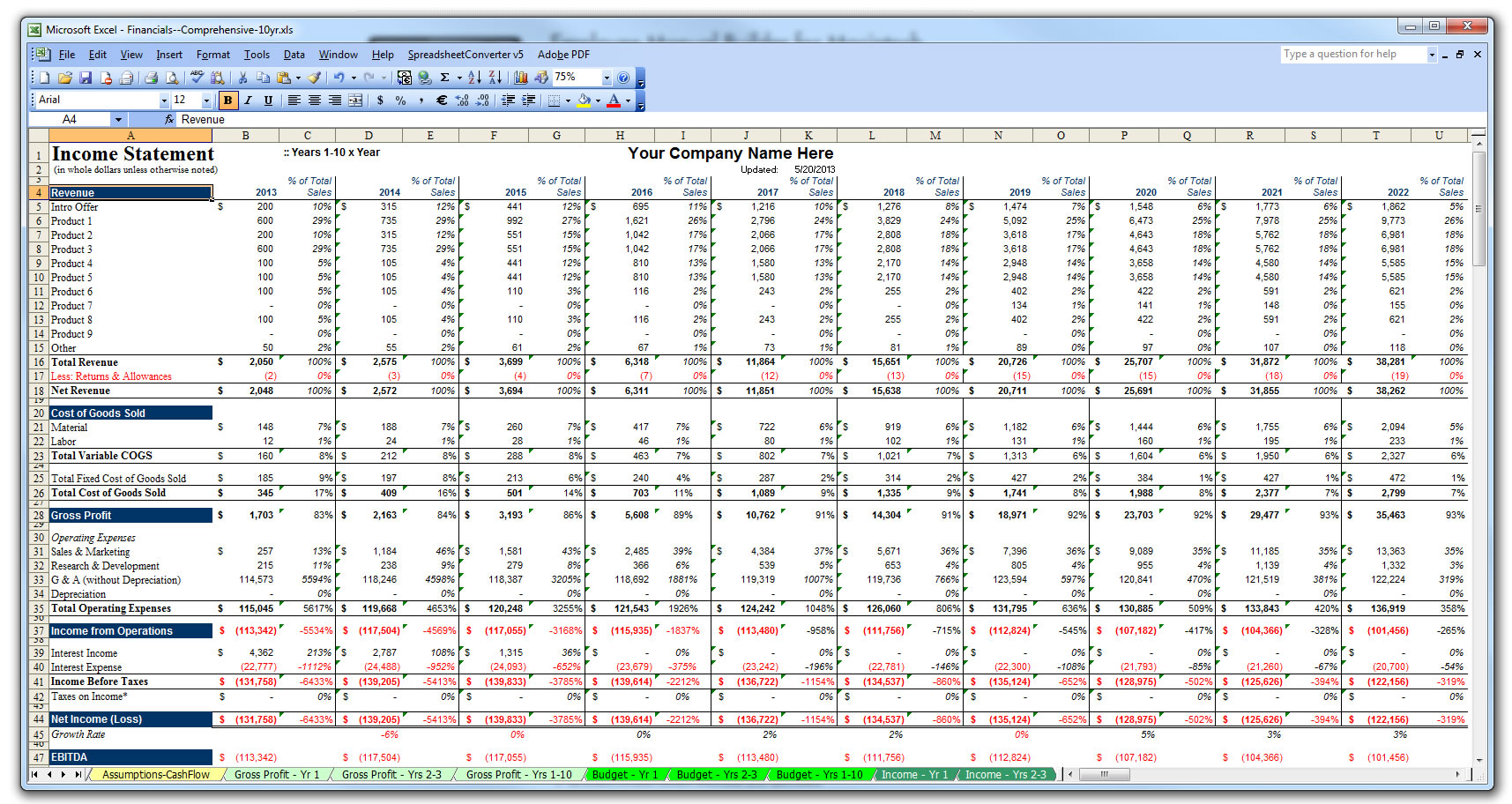 financial plan excel Londa.britishcollege.co
