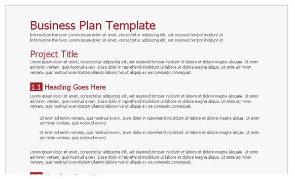business plan google docs google docs business plan template