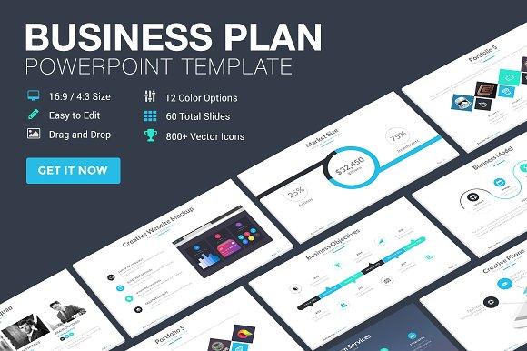 Business Plan Powerpoint Template ~ Presentation Templates