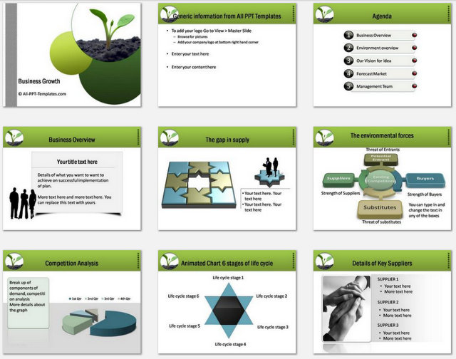 business plan template free download ppt ppt templates for