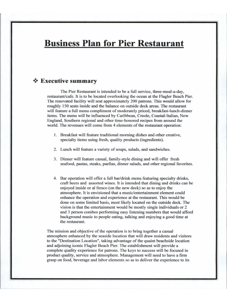 19+ Business Plan Templates Free Sample, Example, Format