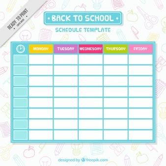 Schedule Vectors, Photos and PSD files   Free Download