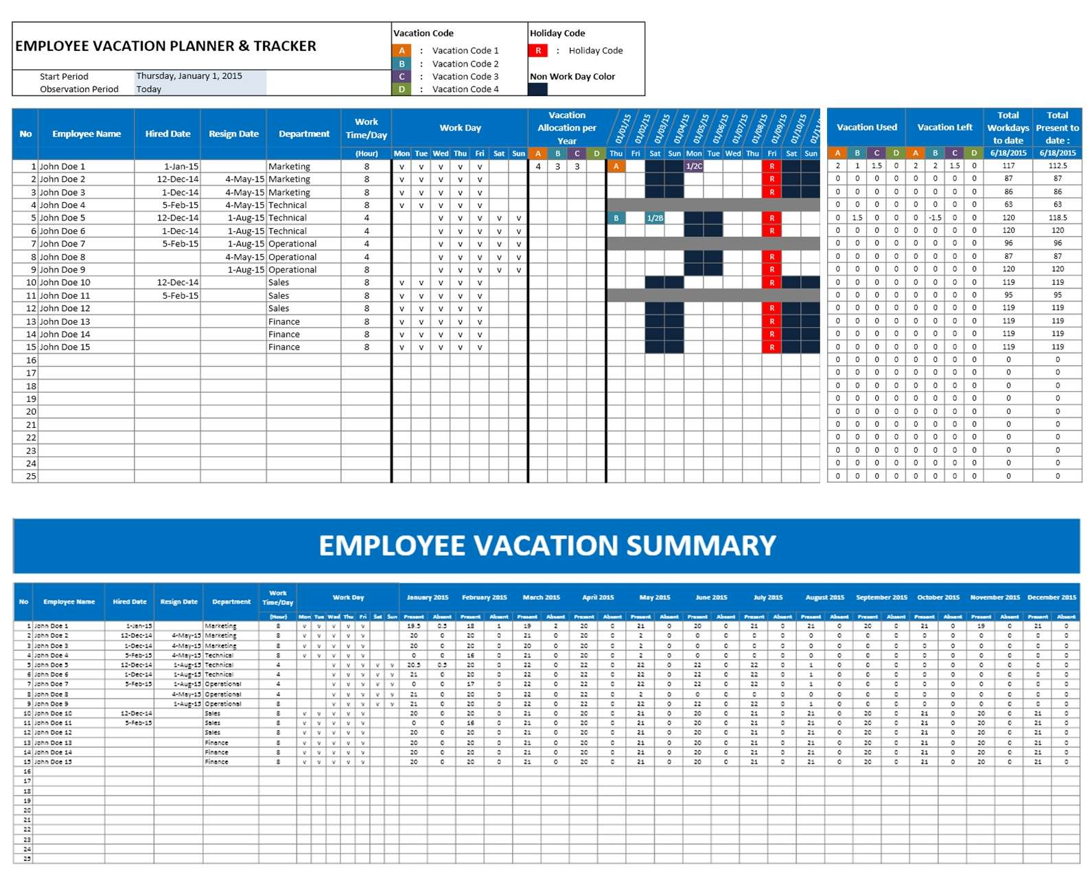 Vacation Planner
