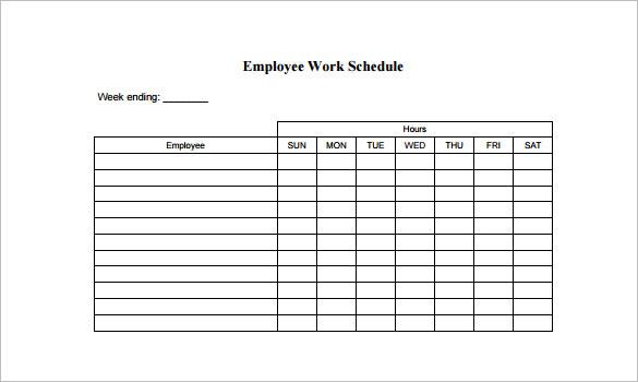 schedules templates free Londa.britishcollege.co