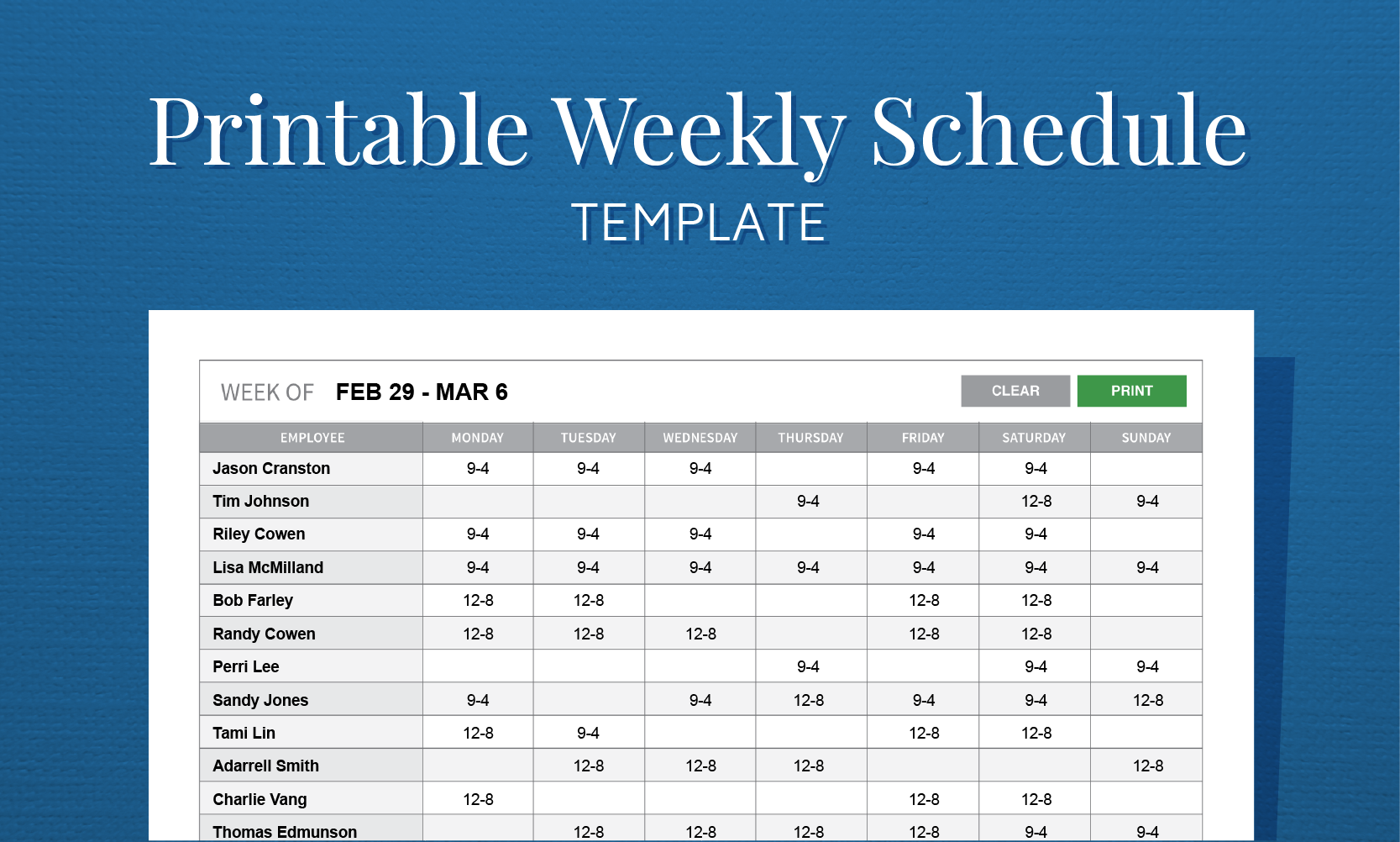27 Images of Create Work Schedule Template | leseriail.com