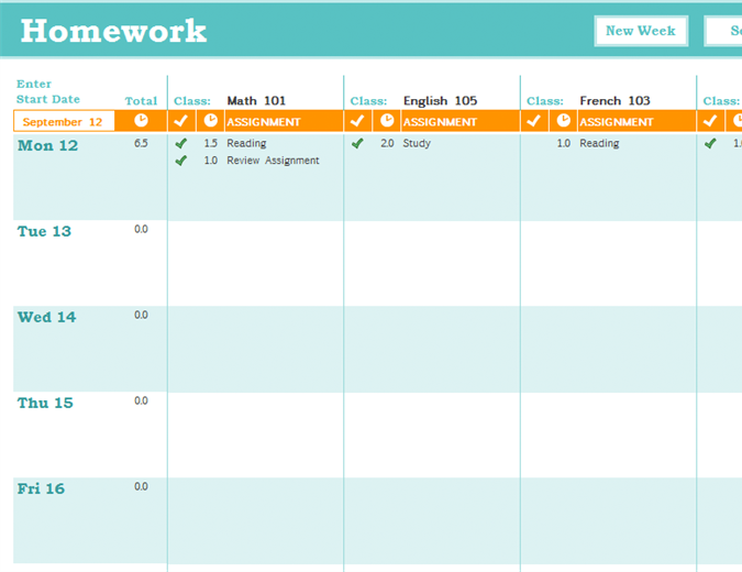 11+ Timetable Templates Free Sample, Example, Format | Free