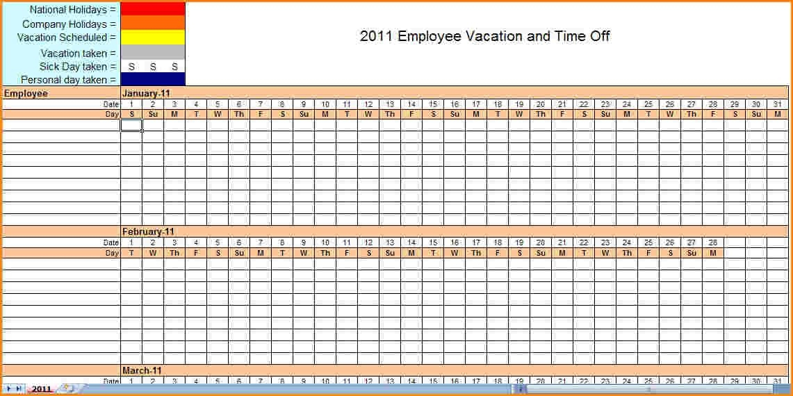 Monthly Employee Schedule Template Excel | listmachinepro.com