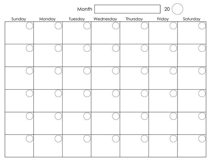 monthly scheduling calendar template | weeklyplanner.website