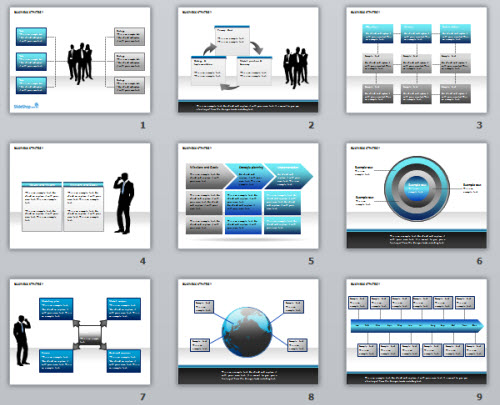 Powerpoint Template Free Business