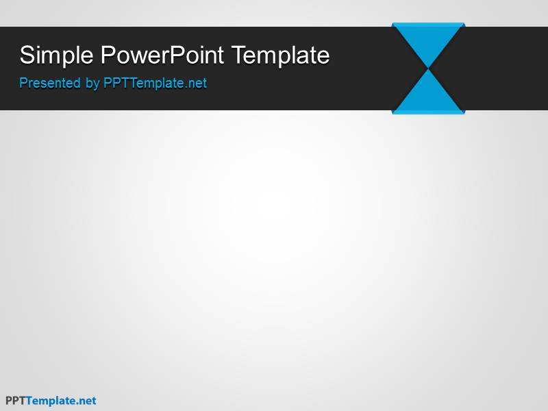 Powerpoint Template Free Simple