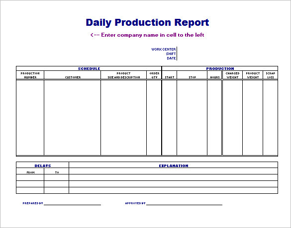Production Scheduling Template 24+ Free Word, Excel, PDF