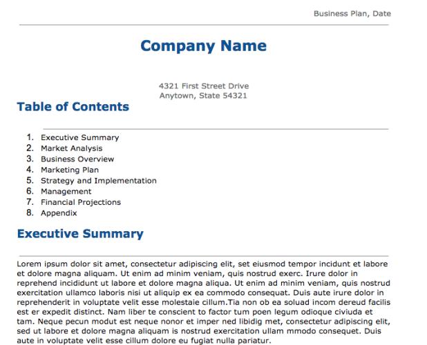 business plan template google docs 24 google docs templates that