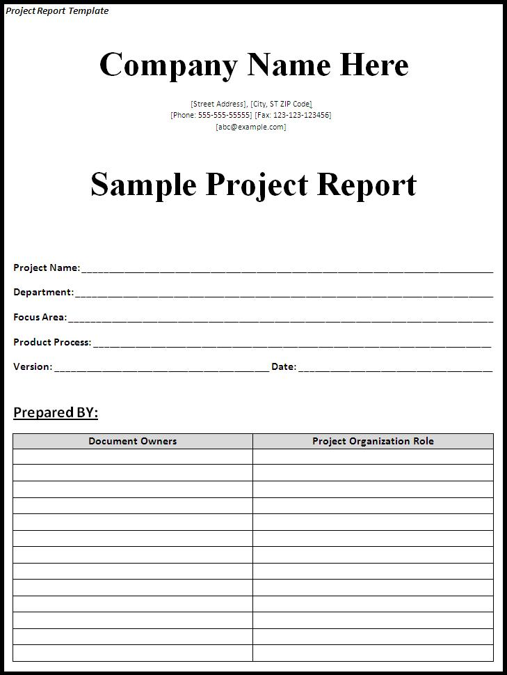 project weekly report template weekly project status report