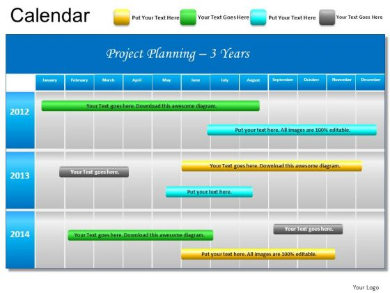 Project Schedule Template Powerpoint