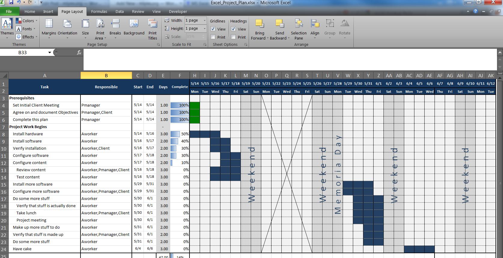 An Excel Project Planning Spreadsheet – MLYNN.ORG