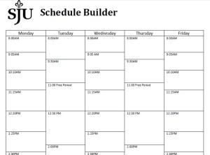 weekly schedule builder Londa.britishcollege.co