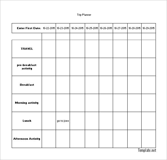 plan schedule template Londa.britishcollege.co