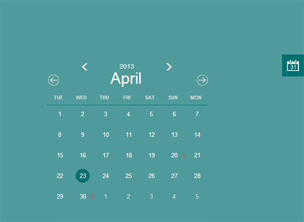 Schedule Template Html