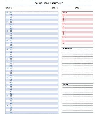 microsoft word schedule template word schedule templates