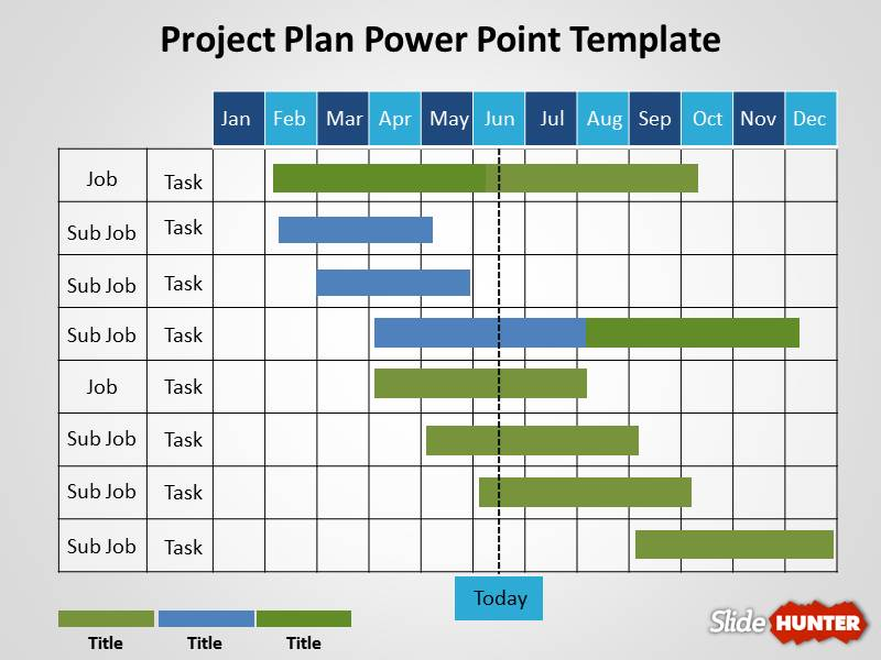 Schedule Template Powerpoint