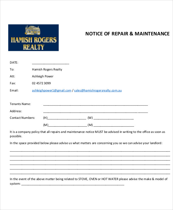 Scheduled Maintenance Email Template