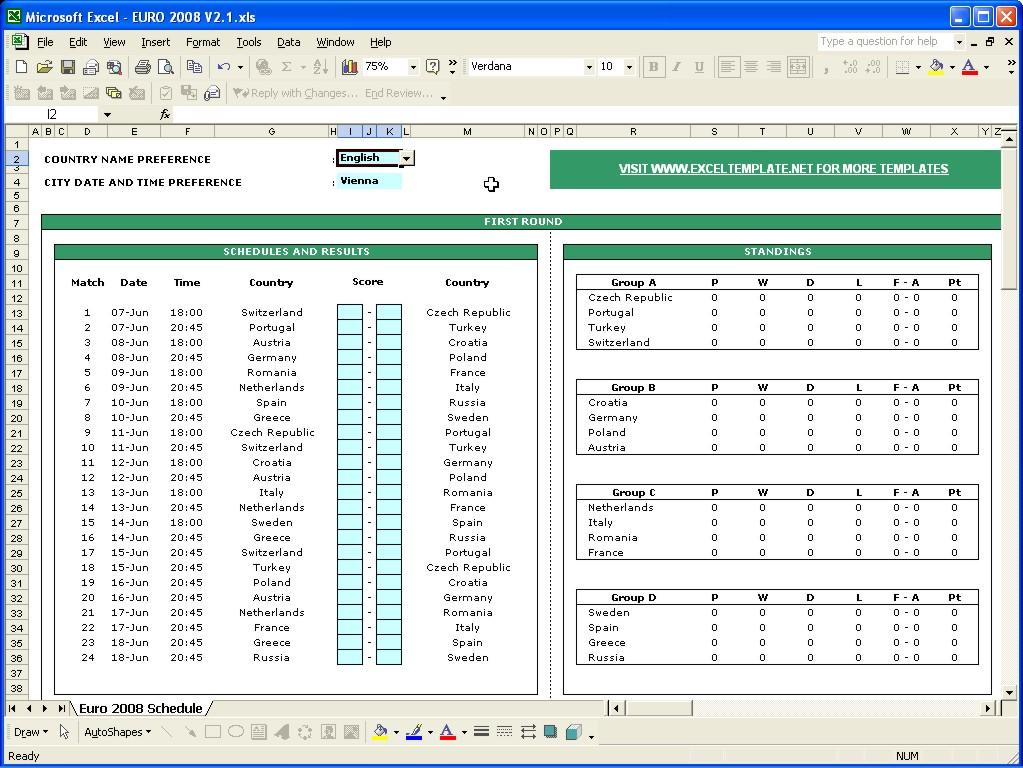 sport schedule template Londa.britishcollege.co