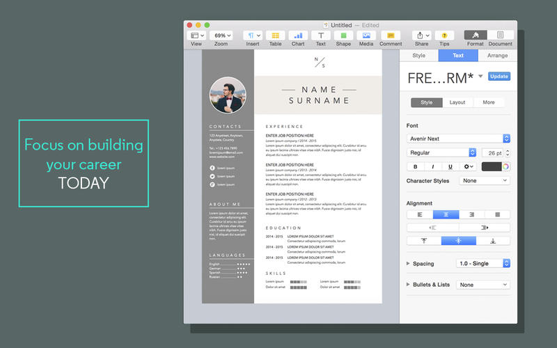 Free Menu Templates for Mac Pages Milviamaglione.com