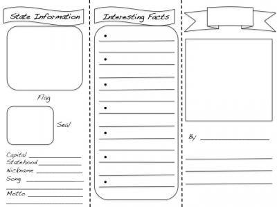 brochure templates for school project 48 best school ideas images