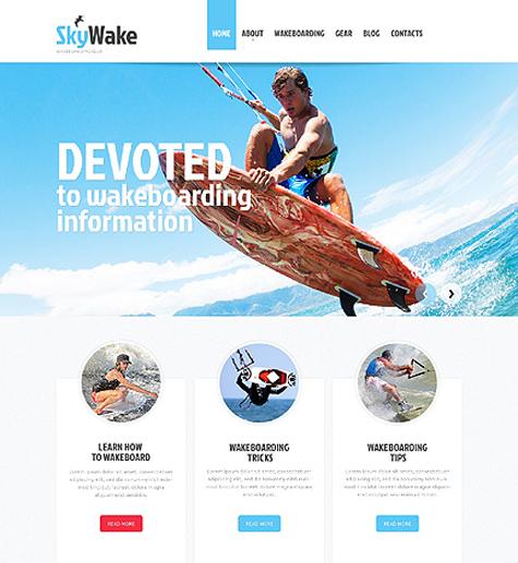 50+ Best Sport Website Templates Free & Premium freshDesignweb