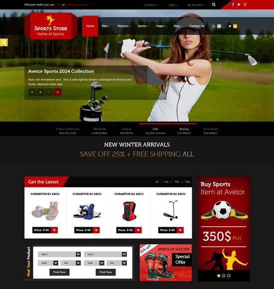 50 Best Sport Website Templates Free Premium Freshdesignweb