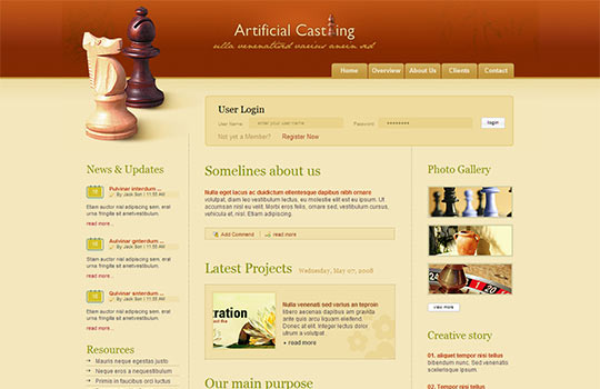 15+ Free PHP Website Themes & Templates   Free & Premium Templates