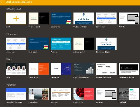 google docs presentation templates museum presentation template