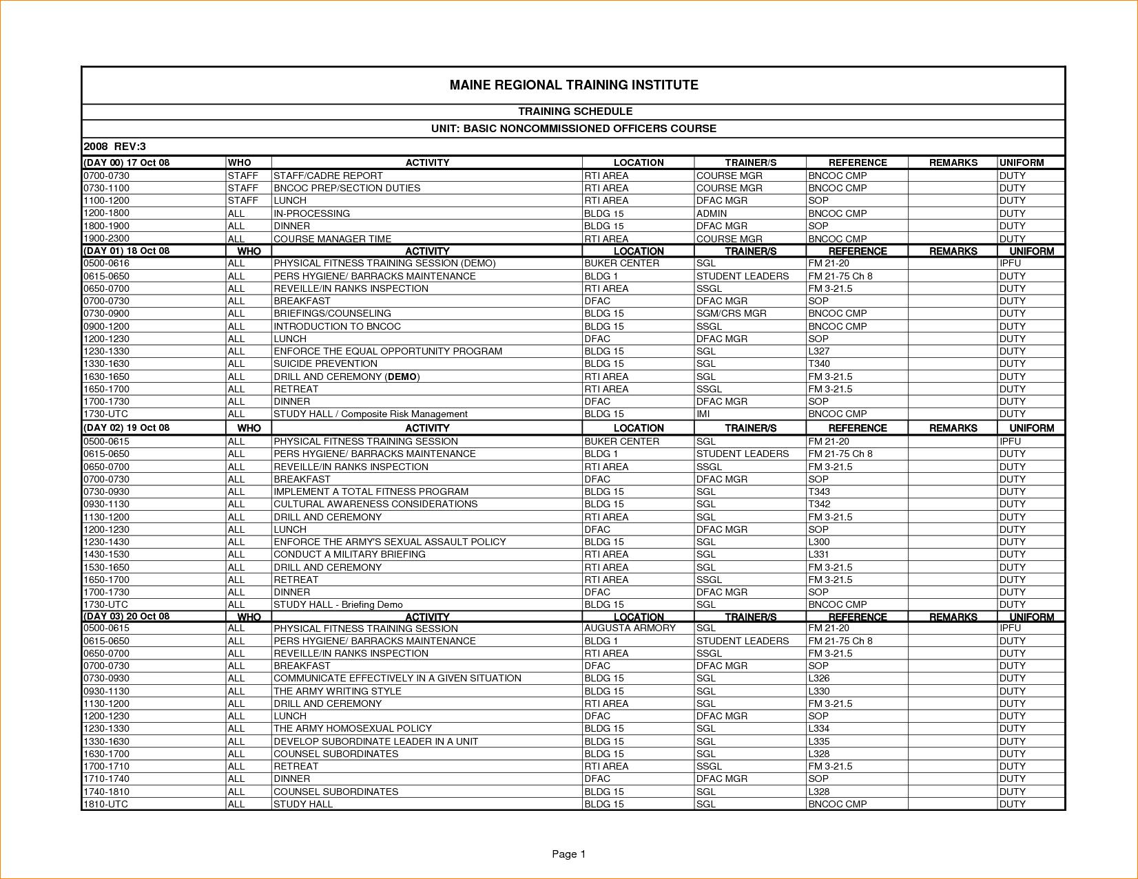 26 Images of Fire Training Calendar Template Excel | leseriail.com