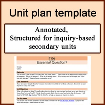 Daily Lesson Plan Template with Subject Grid Secondary | Lesson