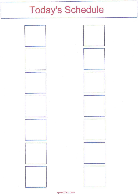 Autism Awareness: Visual Schedule Freebie | TpT