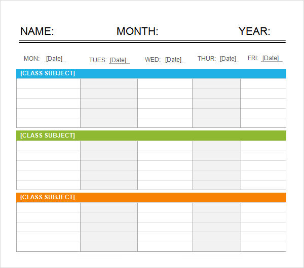 work schedule template excel 2010