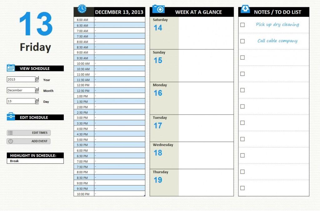daily work schedule Londa.britishcollege.co