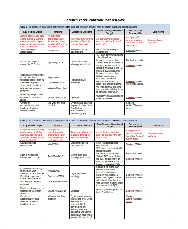 Project work plan template functional sample in word nursing
