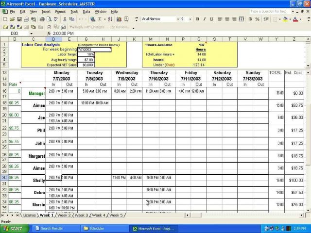 Audit schedule template xls layout templatels event planner