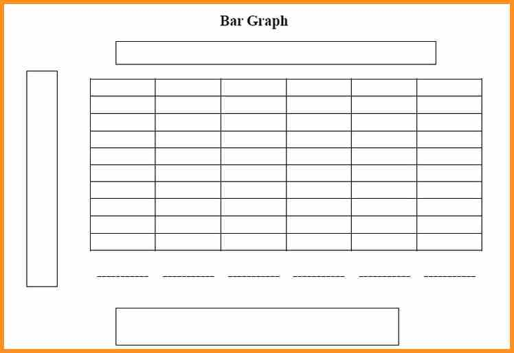 This is a blank bar graph template, with room for a title, four