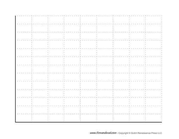 Blank Bar Graph Template Free Printable PDF