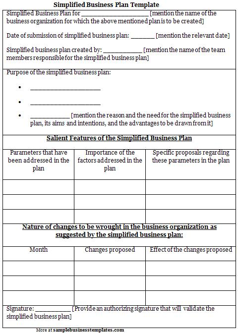 Business Plan Template Free DC Design