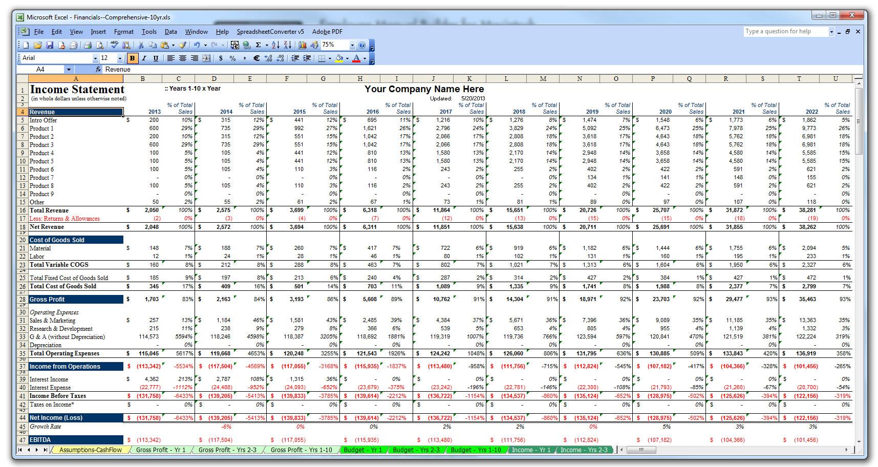 financial plan excel Londa.britishcollege.co