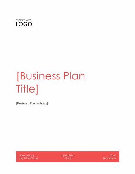 Business Plan Template for NGOs Microsoft Word Templates