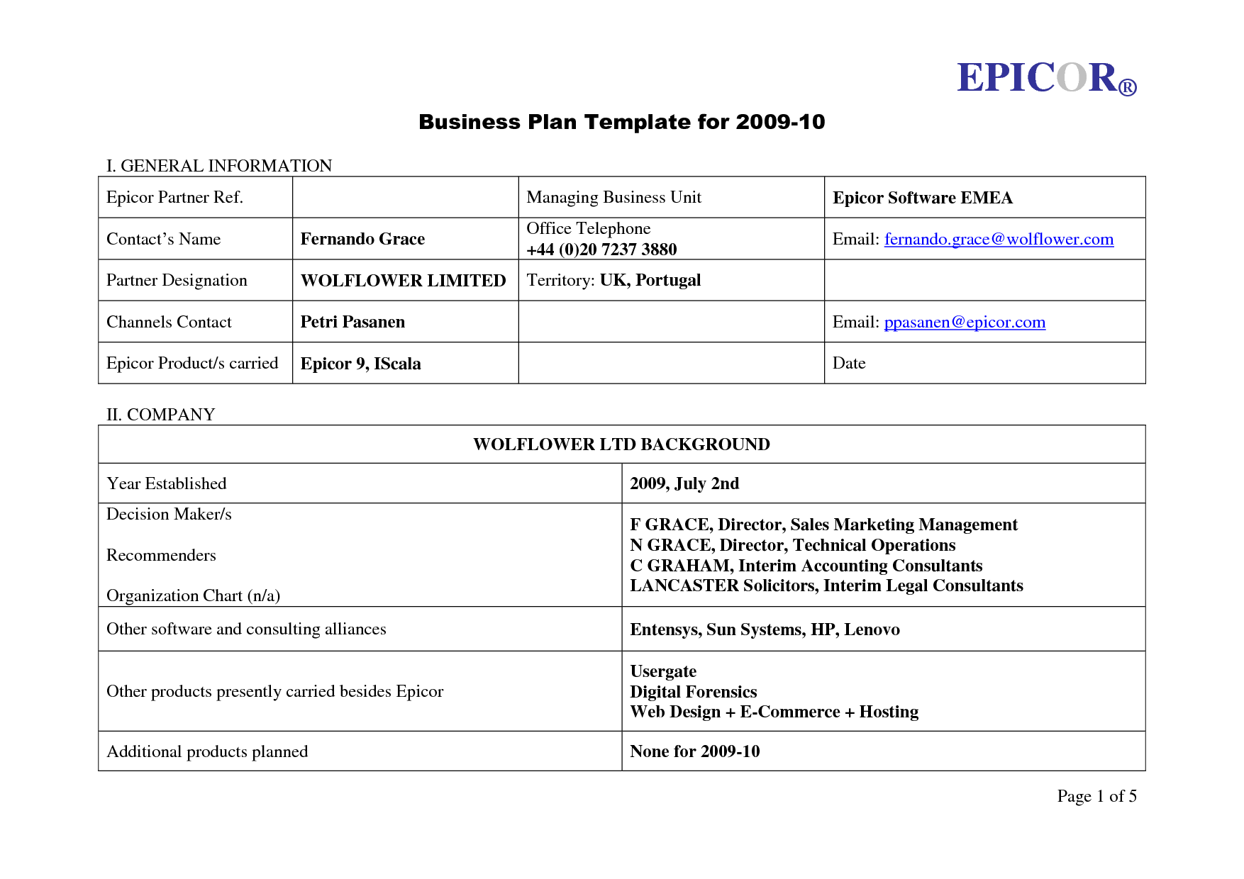 business template free Londa.britishcollege.co