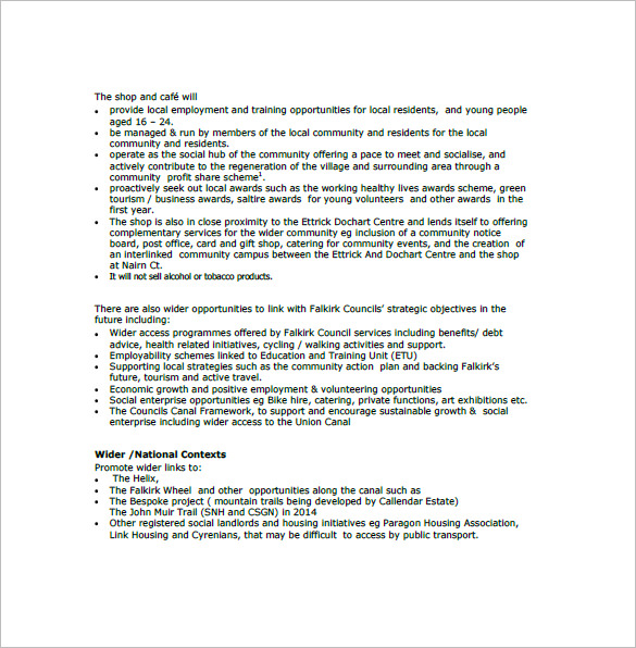 Business Plan Template Uk Free | Free Business Template in Free