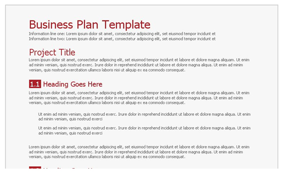 business plan google docs google docs business plan template