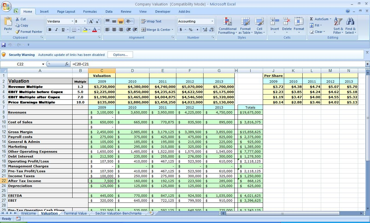 business plan excel template business plan excel template free