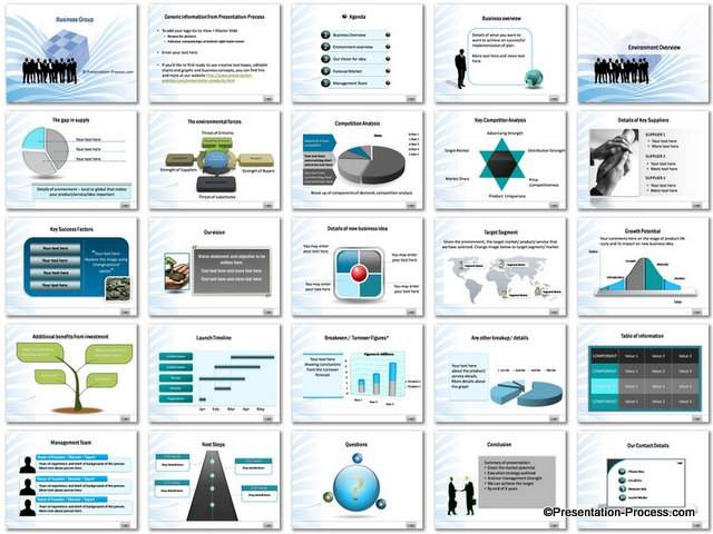 business plan ppt template free download business plan ppt