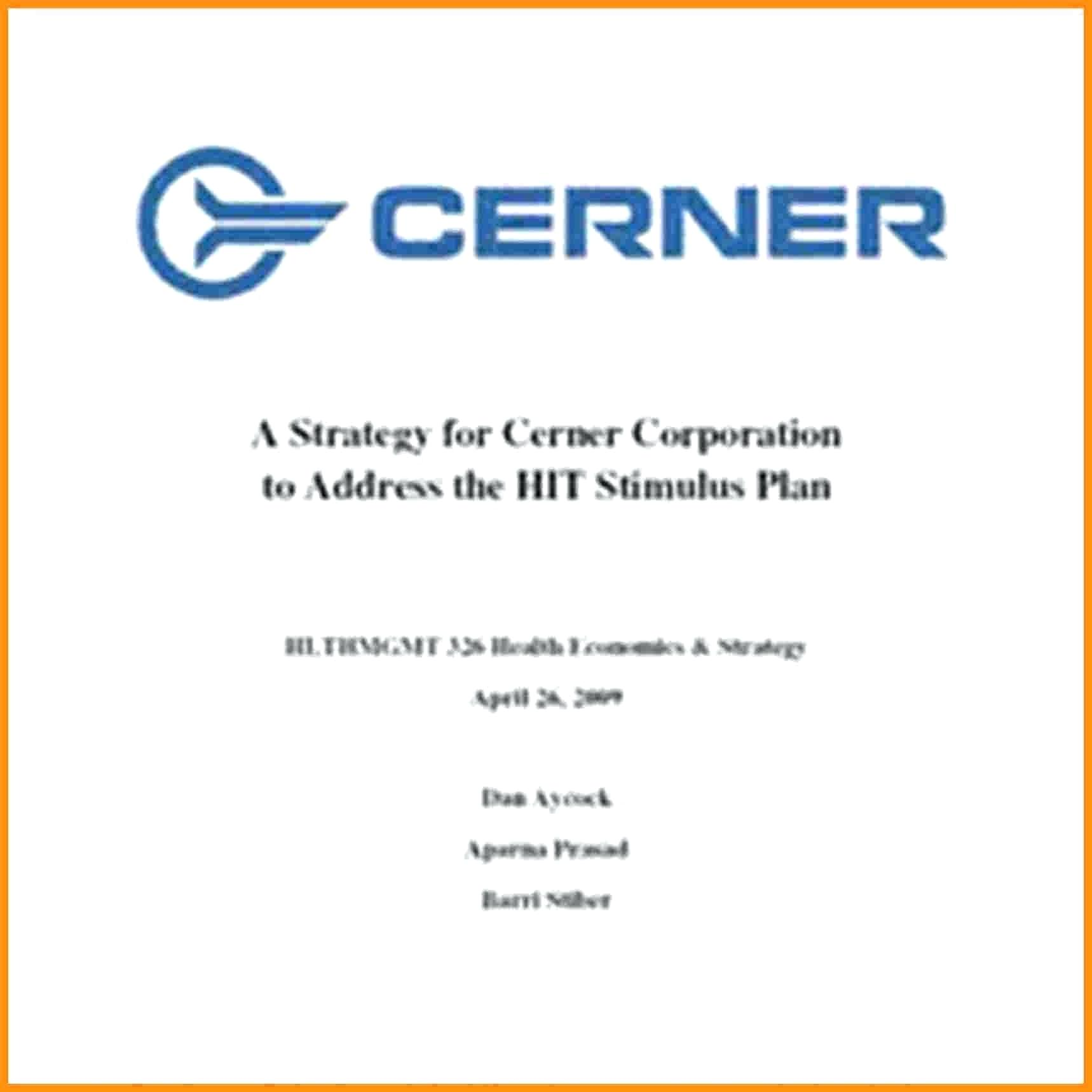 template: Business Plan Template Pages